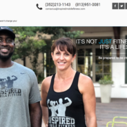 Launched new Website – Inspired mobile fitness