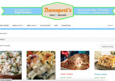 Davenport's Daily Delights